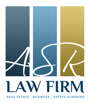 An image of the ASR Law Firm Logo, created by Not Fade Away Marketing.