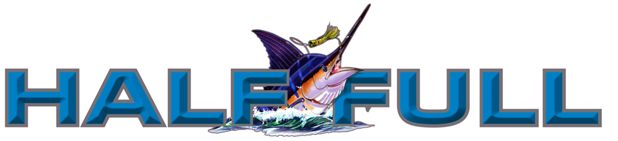 An image of the Half Full Sportfishing Logo.