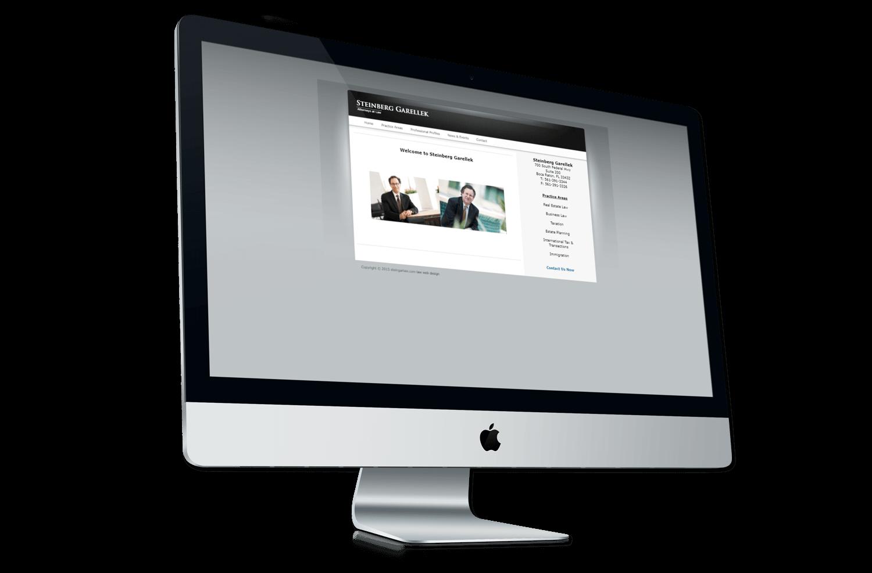 An image of the original Steinberg Garellek website.