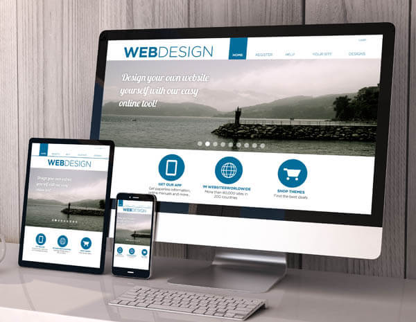 Undertaking a website revamp can allow you to take advantage of responsive design.